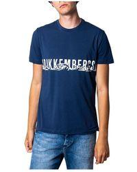 Bikkembergs T-shirt - Blauw