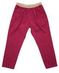 Hartford Pantalon Pove Rouge - Roze