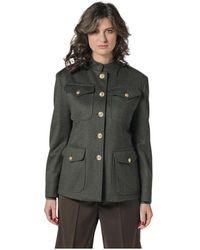 Barena Military Jacket IN Loden - Vert