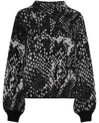 Opus 242315936 Sweatshirt - Grijs