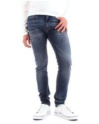 Calvin Klein J30j312353 Jeans - Blauw