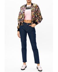 Versace Jeans Couture - Jeans with logo Azul - Lyst