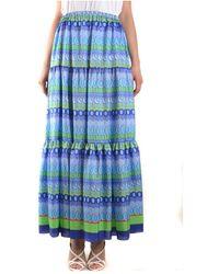 Giada Benincasa Skirt - Bleu