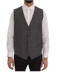 Dolce & Gabbana - Wool Formal Dress Vest - Lyst