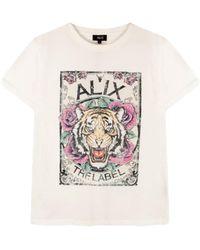 Alix The Label T-shirt - Bianco