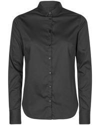 Mos Mosh - Tilda Sustainable Skjorte 131700 - Lyst