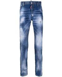 DSquared² Jeans Cool Guy Délavé - Blauw