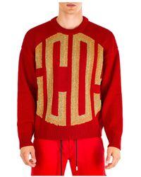 Gcds - Men's Crew Neck Neckline Jumper Sweater Pullover - Lyst