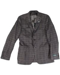 Lauren by Ralph Lauren Suit Jacket Plaid - Marrone