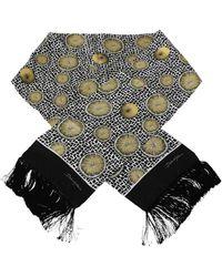 Dolce & Gabbana - Citroen Print Tassel Wrap Scarf - Lyst