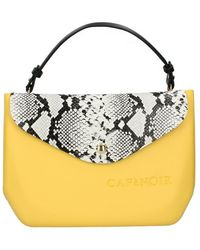 CafeNoir C3bj 0001 shopping bag accessories - Amarillo