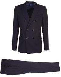 Moorer Suit - Bleu