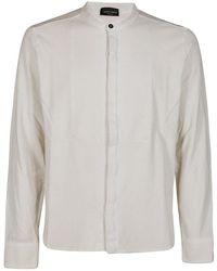Roberto Collina Shirt - Neutre