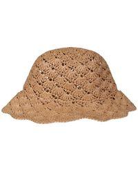 RED Valentino Bucket HAT - Neutre