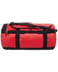The North Face Base camp duffel travel bag L - Rosso