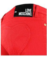 Love Moschino Jeans Rojo