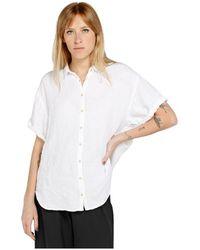 Penn&Ink N.Y Bluse S21W318 - Weiß