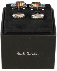 Paul Smith Auto-Manschetten - Grau