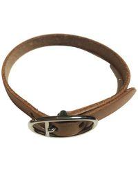 Hermès Tweedehands Armband - Bruin