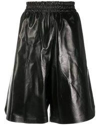 Bottega Veneta Knie Shorts - Zwart