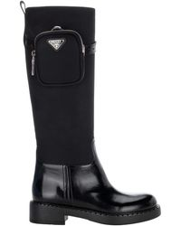 Prada Shoes Closed 1w359mfb0503lf7 - Zwart
