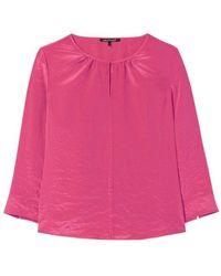Luisa Cerano Long Sleeve Blouse - Roze