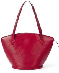Louis Vuitton St-jacques Shopping Gm - Rood