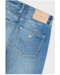 Giorgio Armani Roma women's jeans Azul