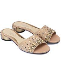 Loriblu Suede slipper - Pink