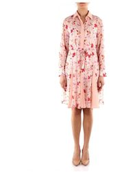 iBlues Nova Shirt Dress - Roze