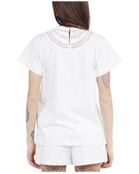 Alaïa T-shirt - Bianco