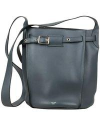 Céline Vintage Big Bag Emmer - Blauw