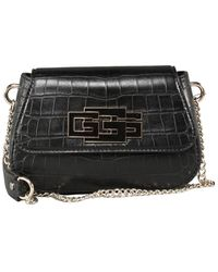 Guess Triple Crossbody Flap - Zwart