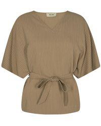 Mos Mosh Rikas blouse 140722 - Neutro