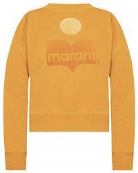 Étoile Isabel Marant Sweatshirt With Logo - Oranje