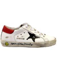 Golden Goose Deluxe Brand Superstar Sneakers White Schrijven - Wit