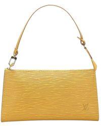 Louis Vuitton Epi Pochette Accessoires Leather - Jaune