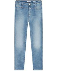 Closed Skinny pusher Jeans c91231-04t-3n - Blu