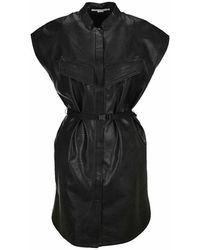 Stella McCartney Lexie Midi Dress - Zwart