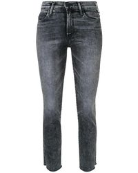 Mother Mom Fit Jeans - Grijs