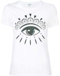 KENZO Overhemd Eye - Wit