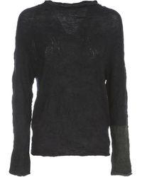 Y's Yohji Yamamoto Off N L/s Pullover - Blauw