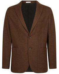 Boglioli Single-breasted jacket - Marron