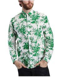 Essentiel Antwerp Monroe Printed Shirt - Groen