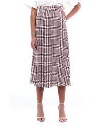 Alessandra Rich - Fab2060f2806 Long Skirt - Lyst