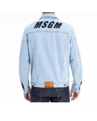 MSGM Jacket Azul