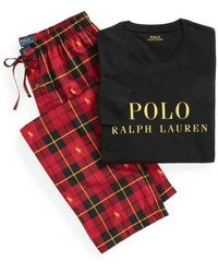 Polo Ralph Lauren Pigiama - Zwart