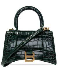 Balenciaga Hourglass Shoulder Bag - Groen