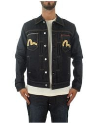 Evisu Denim Jacket - Blauw