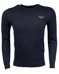 Antony Morato Sweater Ronde Nek Donker - Blauw